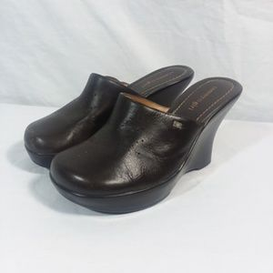 Tommy Girl Hilfiger Clogs Wedge Slip Ons Size 7M